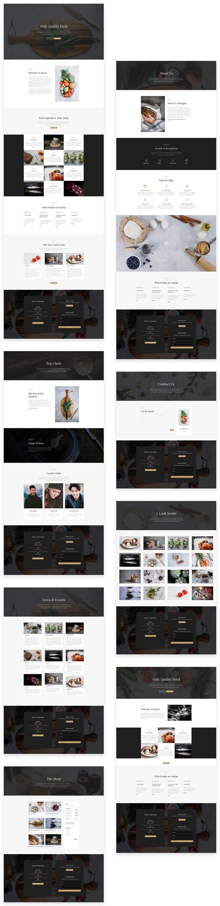 divi-restaurant-layout-pack-grid-1