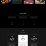 Pack Layout Divi pour site de photograph(i)e