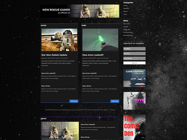 divi-star-wars-layout-free
