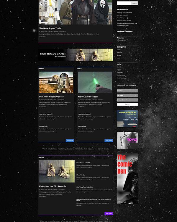 divi-star-wars-layout-free